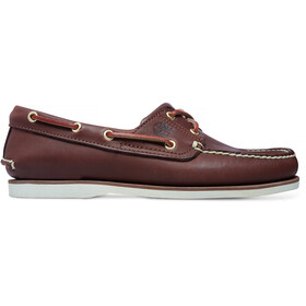 Timberland Classic 2-Eye Boat Shoes Men medium brown full grain
